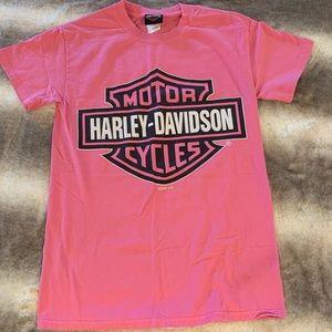 Harley Davidson Pink Women's Dealer Tshirt